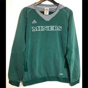 Adidas Climalite Mariners Crewneck Sweatshirt